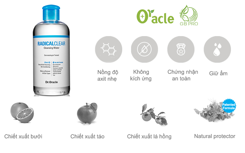 Radical Clear Cleansing Water